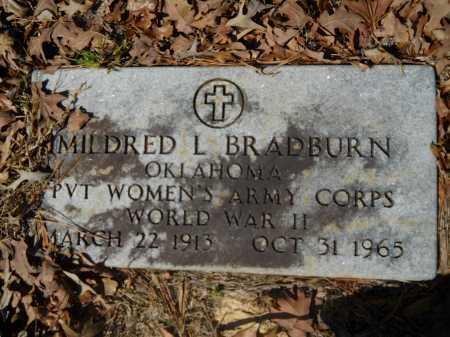 BRADBURN (VETERAN WWII), MILDRED - Columbia County, Arkansas   MILDRED BRADBURN (VETERAN WWII) - Arkansas Gravestone Photos