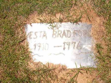 BRADFORD, VESTA - Columbia County, Arkansas | VESTA BRADFORD - Arkansas Gravestone Photos