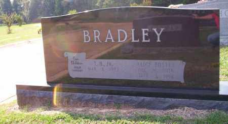FOSTER BRADLEY, ALICE - Columbia County, Arkansas   ALICE FOSTER BRADLEY - Arkansas Gravestone Photos