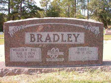 BRADLEY, WILLIAM R - Columbia County, Arkansas | WILLIAM R BRADLEY - Arkansas Gravestone Photos