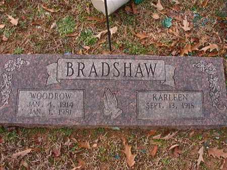 BRADSHAW, WOODROW - Columbia County, Arkansas | WOODROW BRADSHAW - Arkansas Gravestone Photos