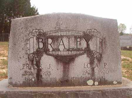 BRALEY, LOLA P - Columbia County, Arkansas | LOLA P BRALEY - Arkansas Gravestone Photos