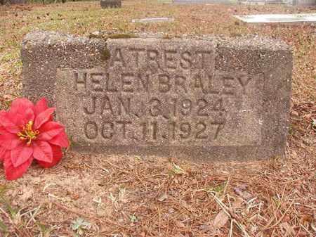 BRALEY, HELEN - Columbia County, Arkansas | HELEN BRALEY - Arkansas Gravestone Photos