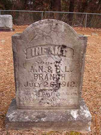 BRANCH, INFANT SON - Columbia County, Arkansas | INFANT SON BRANCH - Arkansas Gravestone Photos