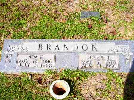 BRANDON, JOSEPH LITTLETON - Columbia County, Arkansas | JOSEPH LITTLETON BRANDON - Arkansas Gravestone Photos