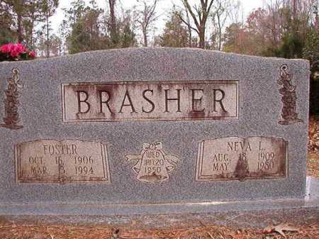 BRASHER, NEVA L - Columbia County, Arkansas   NEVA L BRASHER - Arkansas Gravestone Photos