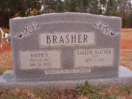 BRASHER, RALPH D - Columbia County, Arkansas | RALPH D BRASHER - Arkansas Gravestone Photos