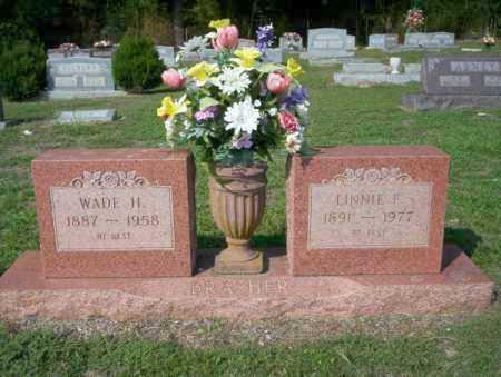 BRASHER, LINNIE F - Columbia County, Arkansas | LINNIE F BRASHER - Arkansas Gravestone Photos