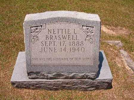 BRASWELL, NETTIE - Columbia County, Arkansas   NETTIE BRASWELL - Arkansas Gravestone Photos