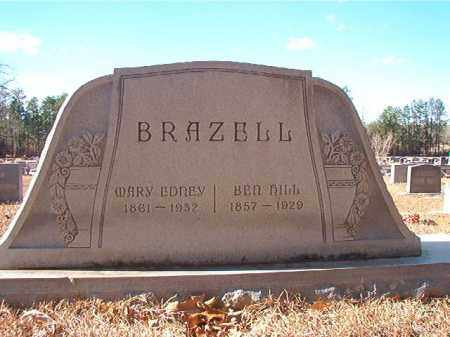 BRAZELL, BEN HILL - Columbia County, Arkansas | BEN HILL BRAZELL - Arkansas Gravestone Photos