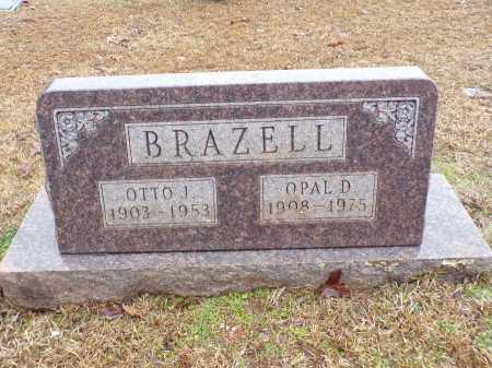 BRAZELL, OTTO J - Columbia County, Arkansas | OTTO J BRAZELL - Arkansas Gravestone Photos