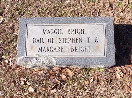 BRIGHT, MAGGIE - Columbia County, Arkansas | MAGGIE BRIGHT - Arkansas Gravestone Photos