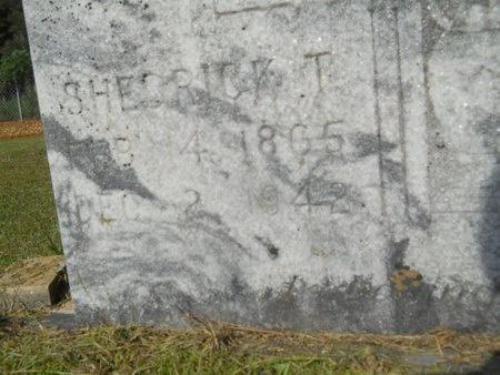 BRIGHT, SHEDRICK T (CLOSE UP) - Columbia County, Arkansas | SHEDRICK T (CLOSE UP) BRIGHT - Arkansas Gravestone Photos