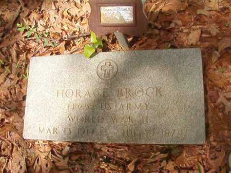 BROCK (VETERAN WWII), HORACE - Columbia County, Arkansas | HORACE BROCK (VETERAN WWII) - Arkansas Gravestone Photos