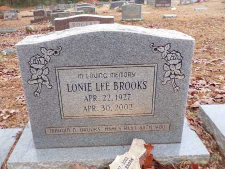 BROOKS, LONIE - Columbia County, Arkansas | LONIE BROOKS - Arkansas Gravestone Photos