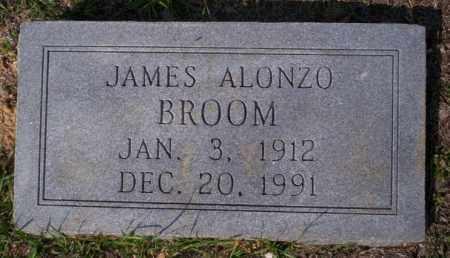 BROOM, JAMES ALONZO - Columbia County, Arkansas   JAMES ALONZO BROOM - Arkansas Gravestone Photos