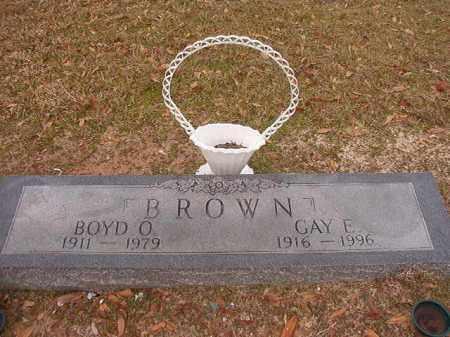 BROWN, BOYD O - Columbia County, Arkansas | BOYD O BROWN - Arkansas Gravestone Photos