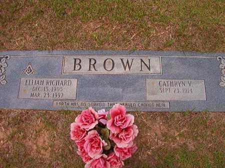BROWN, ELIJAH RICHARD - Columbia County, Arkansas | ELIJAH RICHARD BROWN - Arkansas Gravestone Photos