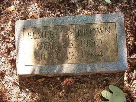 BROWN, ELMER JAY - Columbia County, Arkansas | ELMER JAY BROWN - Arkansas Gravestone Photos
