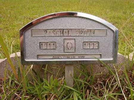 BROWN, PASCHAL - Columbia County, Arkansas   PASCHAL BROWN - Arkansas Gravestone Photos