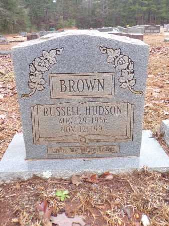 BROWN, RUSSELL HUDSON - Columbia County, Arkansas | RUSSELL HUDSON BROWN - Arkansas Gravestone Photos