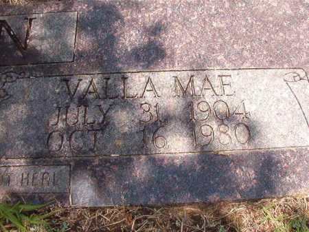 BROWN, VALLA MAE - Columbia County, Arkansas | VALLA MAE BROWN - Arkansas Gravestone Photos