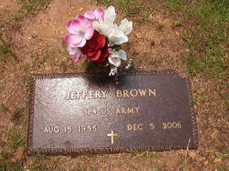 BROWN (VETERAN), JEFFERY - Columbia County, Arkansas | JEFFERY BROWN (VETERAN) - Arkansas Gravestone Photos