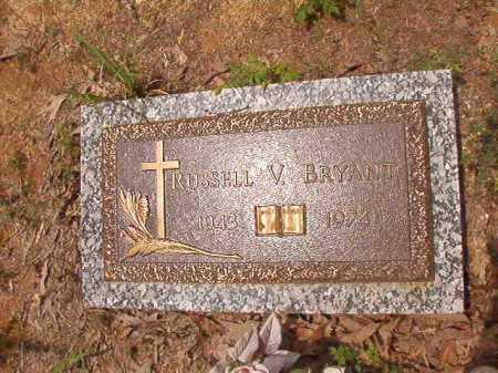 BRYANT, RUSSELL V - Columbia County, Arkansas | RUSSELL V BRYANT - Arkansas Gravestone Photos