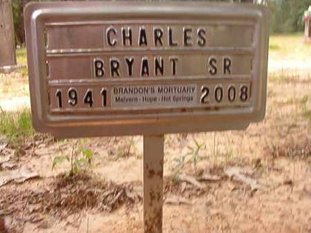 BRYANT, SR, CHARLES - Columbia County, Arkansas | CHARLES BRYANT, SR - Arkansas Gravestone Photos
