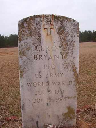 BRYANT (VETERAN WWII), LEROY - Columbia County, Arkansas | LEROY BRYANT (VETERAN WWII) - Arkansas Gravestone Photos