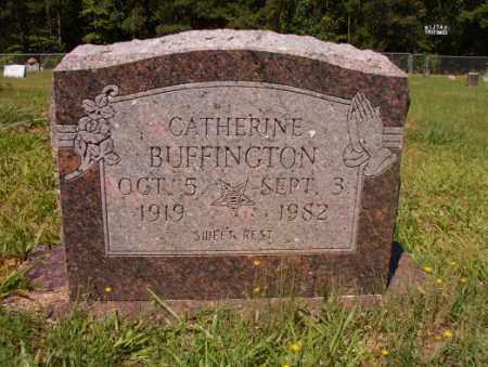 BUFFINGTON, CATHERINE - Columbia County, Arkansas   CATHERINE BUFFINGTON - Arkansas Gravestone Photos