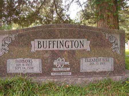 BUFFINGTON, FAIRBANKS - Columbia County, Arkansas | FAIRBANKS BUFFINGTON - Arkansas Gravestone Photos