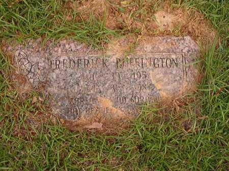 BUFFINGTON, FREDERICK - Columbia County, Arkansas   FREDERICK BUFFINGTON - Arkansas Gravestone Photos