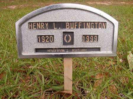 BUFFINGTON, HENRY L - Columbia County, Arkansas   HENRY L BUFFINGTON - Arkansas Gravestone Photos