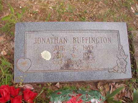 BUFFINGTON, JONATHAN - Columbia County, Arkansas | JONATHAN BUFFINGTON - Arkansas Gravestone Photos