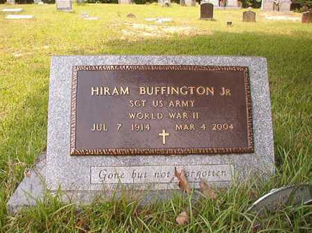 BUFFINGTON, JR, HIRAM - Columbia County, Arkansas | HIRAM BUFFINGTON, JR - Arkansas Gravestone Photos