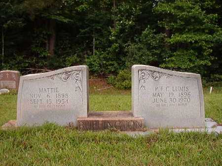 BUFFINGTON, LUMIS - Columbia County, Arkansas | LUMIS BUFFINGTON - Arkansas Gravestone Photos
