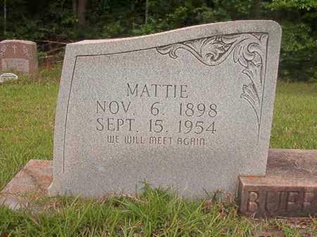 BUFFINGTON, MATTIE - Columbia County, Arkansas   MATTIE BUFFINGTON - Arkansas Gravestone Photos
