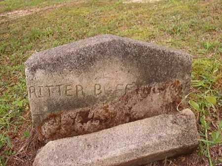 BUFFINGTON, RITTER - Columbia County, Arkansas | RITTER BUFFINGTON - Arkansas Gravestone Photos