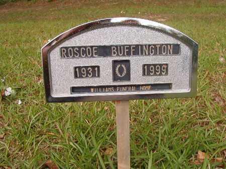BUFFINGTON, ROSCOE - Columbia County, Arkansas   ROSCOE BUFFINGTON - Arkansas Gravestone Photos