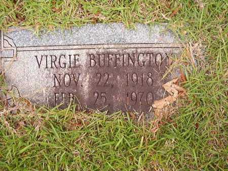 BUFFINGTON, VIRGIE - Columbia County, Arkansas   VIRGIE BUFFINGTON - Arkansas Gravestone Photos