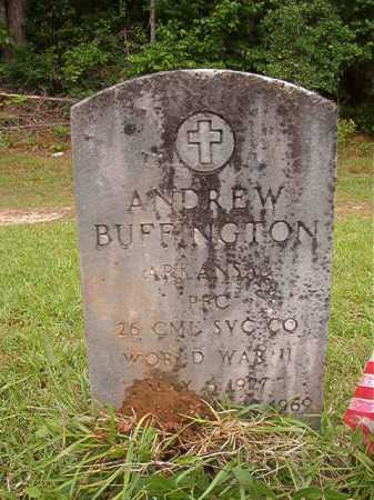 BUFFINGTON (VETERAN WWII), ANDREW - Columbia County, Arkansas | ANDREW BUFFINGTON (VETERAN WWII) - Arkansas Gravestone Photos