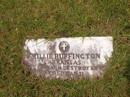 BUFFINGTON (VETERAN WWII), WILLIE - Columbia County, Arkansas | WILLIE BUFFINGTON (VETERAN WWII) - Arkansas Gravestone Photos