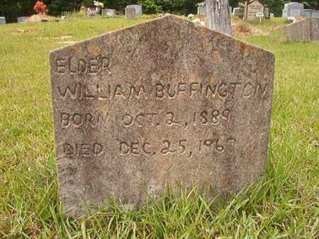 BUFFINGTON, WILLIAM - Columbia County, Arkansas | WILLIAM BUFFINGTON - Arkansas Gravestone Photos