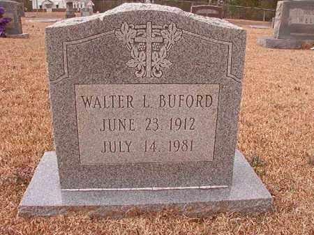 BUFORD, WALTER L - Columbia County, Arkansas   WALTER L BUFORD - Arkansas Gravestone Photos
