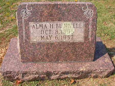 BUNNELL, ALMA H - Columbia County, Arkansas | ALMA H BUNNELL - Arkansas Gravestone Photos