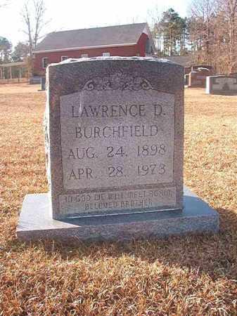 BURCHFIELD, LAWRENCE D - Columbia County, Arkansas   LAWRENCE D BURCHFIELD - Arkansas Gravestone Photos