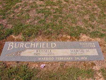 BURCHFIELD, RUSSELL - Columbia County, Arkansas | RUSSELL BURCHFIELD - Arkansas Gravestone Photos