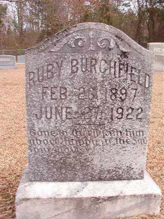 BURCHFIELD, RUBY - Columbia County, Arkansas | RUBY BURCHFIELD - Arkansas Gravestone Photos