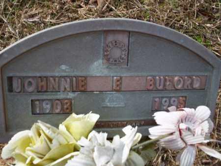 BUFORD, JOHNNIE E - Columbia County, Arkansas | JOHNNIE E BUFORD - Arkansas Gravestone Photos